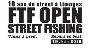 Affiche concours de pêche Carnassiers FTF Open Street Duo 2016