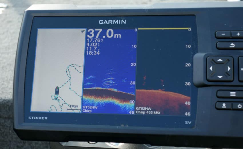 Sondeur Garmin Striker 7SV
